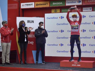 """Classifica Vuelta a España 2020, terza tappa: Primoz Roglic maglia rossa, Daniel Martin recupera ed è a 5"""""""