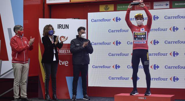 """Classifica Vuelta a España 2020, seconda tappa: Roglic rafforza la maglia rossa. Martin a 9"""", Carapaz a 11"""""""