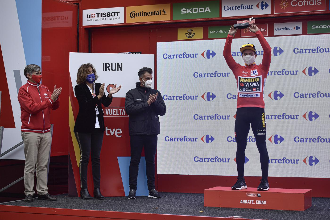 """Classifica Vuelta a España 2020, seconda tappa: Roglic rafforza la maglia rossa. Martin a 11"""", Carapaz a 17"""""""
