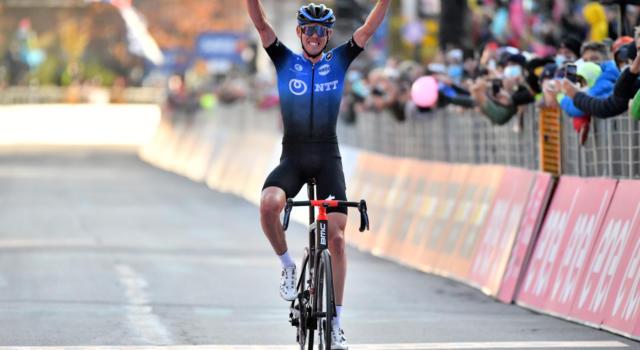 """Giro d'Italia 2020, Ben O'Connor: """"Sono veramente felice. E' incredibile vincere dopo quello che è successo ieri"""""""