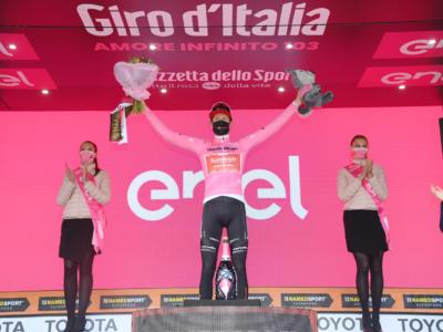 Classifica Giro d'Italia 2020, diciannovesima tappa: Wilco Kelderman resta in Maglia Rosa