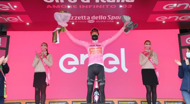 Giro d'Italia 2020: Wilco Kelderman si salva, ma anche a Sestriere potrebbe pagare dazio