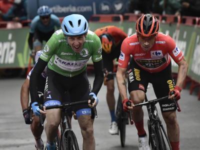 Vuelta a España 2020, tutte le classifiche dopo la nona tappa: Primoz Roglic resta in vetta alla graduatoria a punti
