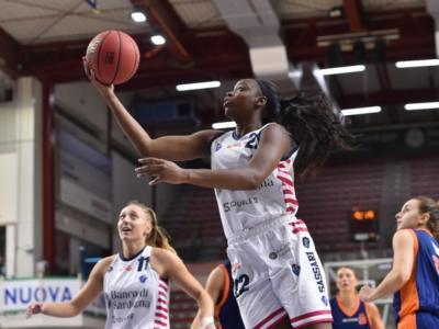 Basket femminile, Serie A1 2020-2021: Sassari stende Broni in gara 1 dei playout