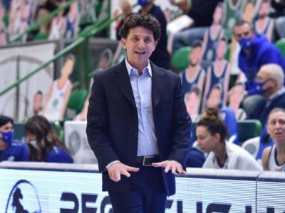 Basket femminile: anche Campobasso-Sassari rinviata, coach Restivo e il suo vice tra i positivi al Covid-19 della Dinamo