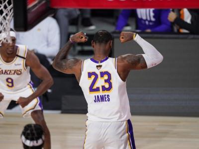 NBA 2020, LeBron James MVP delle Finals: miglior giocatore delle finali con tre squadre diverse
