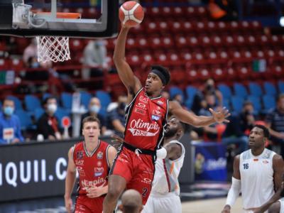 Basket, Serie A 2020-2021: crolla la Virtus Bologna, Milano sul velluto. Sorridono Venezia e Brindisi