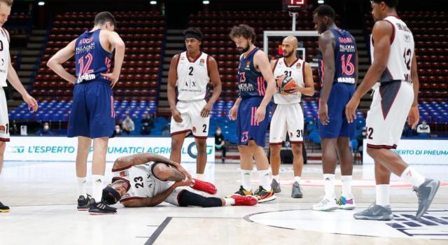 """Basket, Ettore Messina: """"Delaney, distorsione molto brutta, vedremo la risonanza. Senza tre titolari mi butterei nel Naviglio, ma qualcosa faremo"""""""