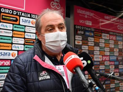 """Mauro Vegni: """"Voglio sanzioni per Jumbo ed EF. Giro d'Italia 2021 già disegnato, presentazione a gennaio"""""""