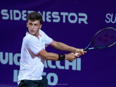"""Tennis, Luca Nardi: """"Vorrei la pesantezza di Sinner e la manualità di Musetti. Nel 2021 giocherò i Challenger"""""""
