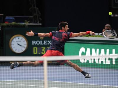 Tennis, il Masters 1000 di Parigi-Bercy si disputerà a porte chiuse