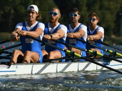 Canottaggio, Europei senior Poznan 2020: anche il quattro di coppia senior maschile è d'argento!