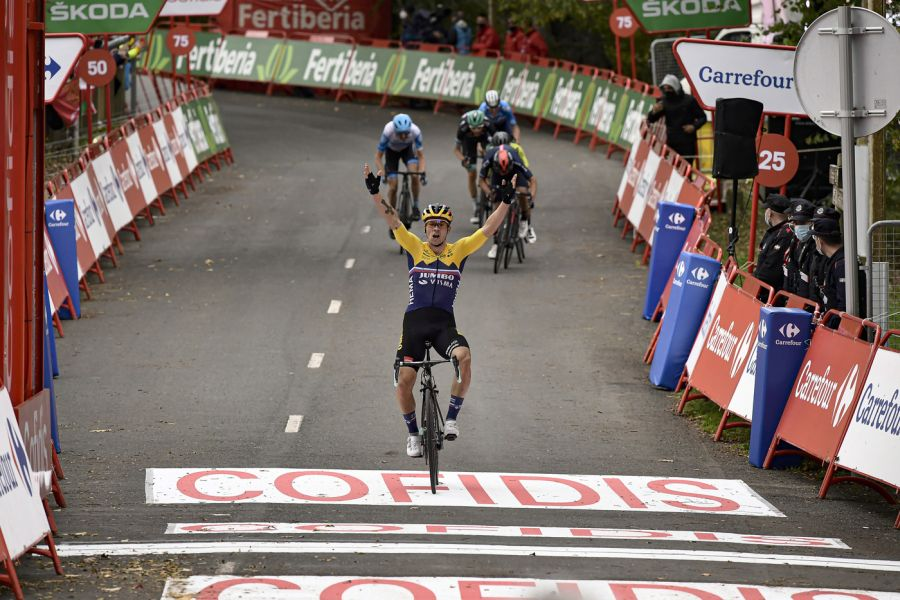 DIRETTA Vuelta a España 2020, tappa di oggi LIVE: una ventina di uomini per la vittoria di tappa! Sfida tra Jumbo Visma e Movistar