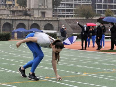 Atletica, inaugurata la nuova Arena Civica a Milano: pista moderna, colori verde-arancio