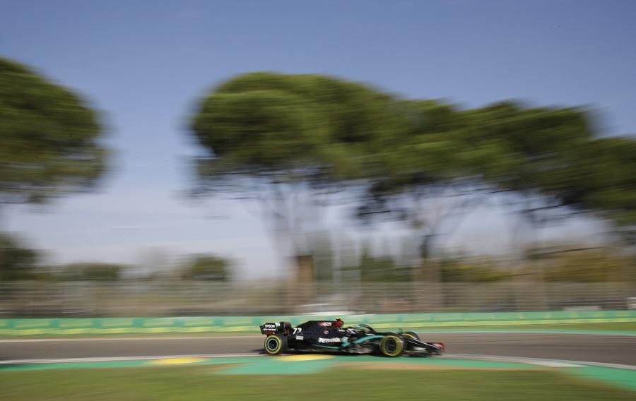 F1, Valtteri Bottas una minaccia per Lewis Hamilton in gara a Imola? Partenza decisiva