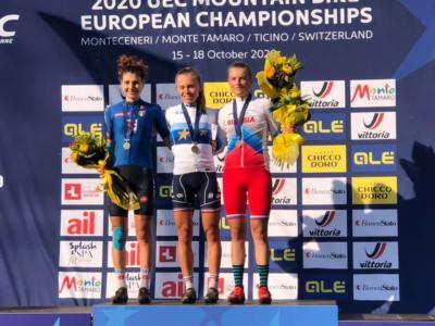 Mountain Bike, Europei cross country 2020: fantastico argento di Marika Tovo tra le Under 23. Oliver Vederso Solvhoj vince tra gli juniores