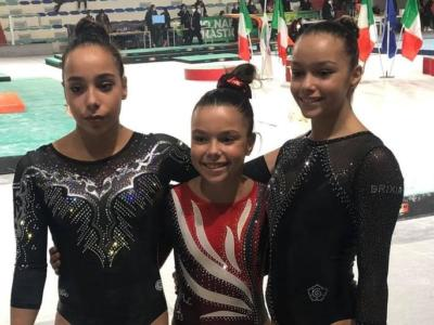Ginnastica artistica, tre sorelle in gara in Serie A1! Giorgia Leone show, con lei la gemella Giulia e la piccola Mayra