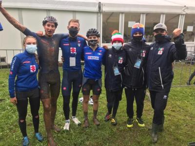 Mountain bike, Mondiali 2020: l'Italia conquista l'argento nella staffetta. Francia in trionfo