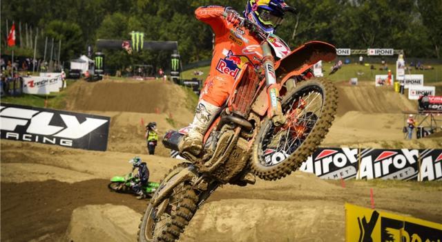 Motocross, Mondiale MX2 2021: Mattia Guadagnini in sella alla KTM nello stesso team di Tony Cairoli in MXGP