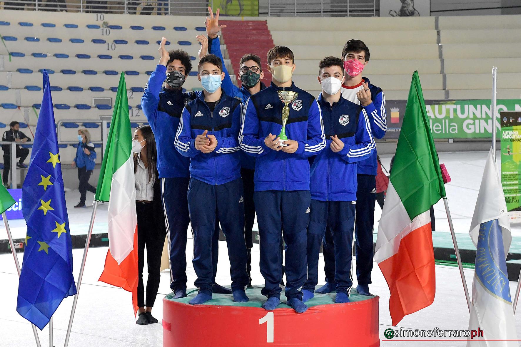 Ginnastica artistica |  Serie A1 |  la Pro Patria Bustese vince la terza tappa al maschile  Definita la Final Six Scudetto