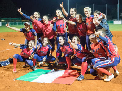 Softball, Serie A1 2020: Bollate campione d'Italia, Saronno ko in quattro gare