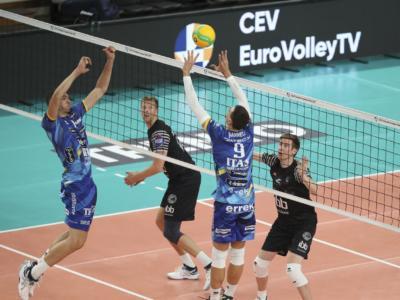 Volley, Champions League 2020-2021: Trento batte il Novi Sad e vola al secondo turno preliminare