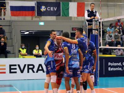 Volley, Trento ipoteca la qualificazione alla Champions League! Travolta la Dinamo Mosca nel preliminare