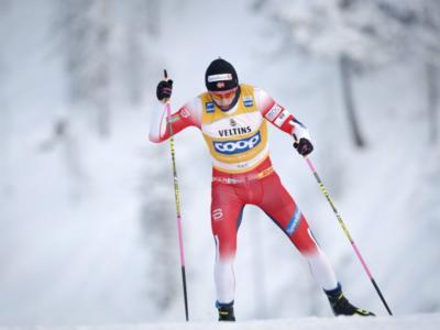 Sci di fondo, Klaebo domina le qualifiche della sprint di Ruka, 6° Federico Pellegrino, out De Fabiani