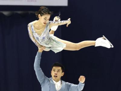 Pattinaggio artistico: Cheng Peng-Yang Jin vincono sul velluto la gara delle coppie alla Cup Of China 2020