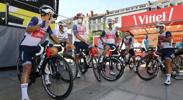 Ciclismo, i compagni di squadra di Vincenzo Nibali alla Trek-Segafredo nel 2021