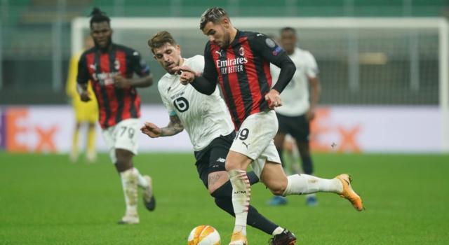 LIVE Lilla-Milan 1-1, Europa League in DIRETTA: non basta Castillejo, arriva un punto per i rossoneri