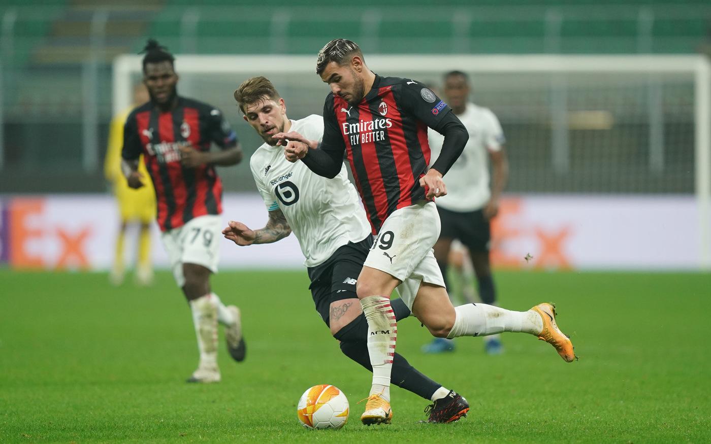 Calcio |  Europa League 2020-2021 |  il Milan cerca la rivincita contro il Lilla  Roma e Napoli a caccia del primato in solitaria