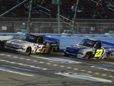 NASCAR Truck Series, GMS Racing e Sheldon Creed festeggiano!