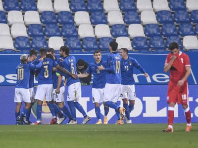Nations League 2021, l'Italia vola in Bosnia. Una vittoria per la Final Four