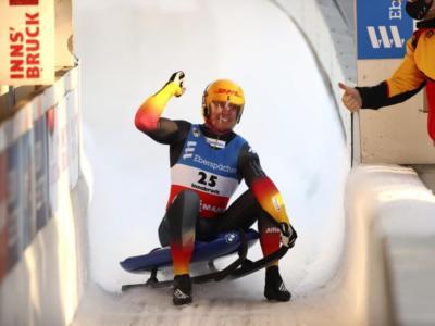 Slittino, colpo doppio per Felix Loch a Igls: sua la settima Coppa del Mondo. Fischnaller fuori dal podio