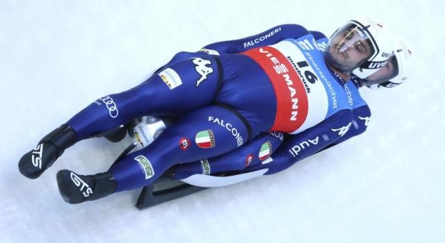 Slittino: Rieder/Kainzwaldner fanno sognare ad Igls ma sono sesti nel doppio. L'Austria esulta con Steu/Koller
