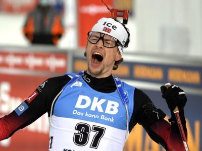 Biathlon, è poker Norvegia nella sprint di Hochfielzen 2020! Laegreid ancora profeta, Lukas Hofer 14mo