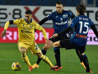 Calcio, Serie A 2020-2021: colpaccio del Verona a Bergamo, battuta l'Atalanta 2-0