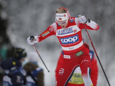 Sci di fondo, Coppa del Mondo Lahti 2021: nello skiathlon femminile dominio della norvegese Therese Johaug