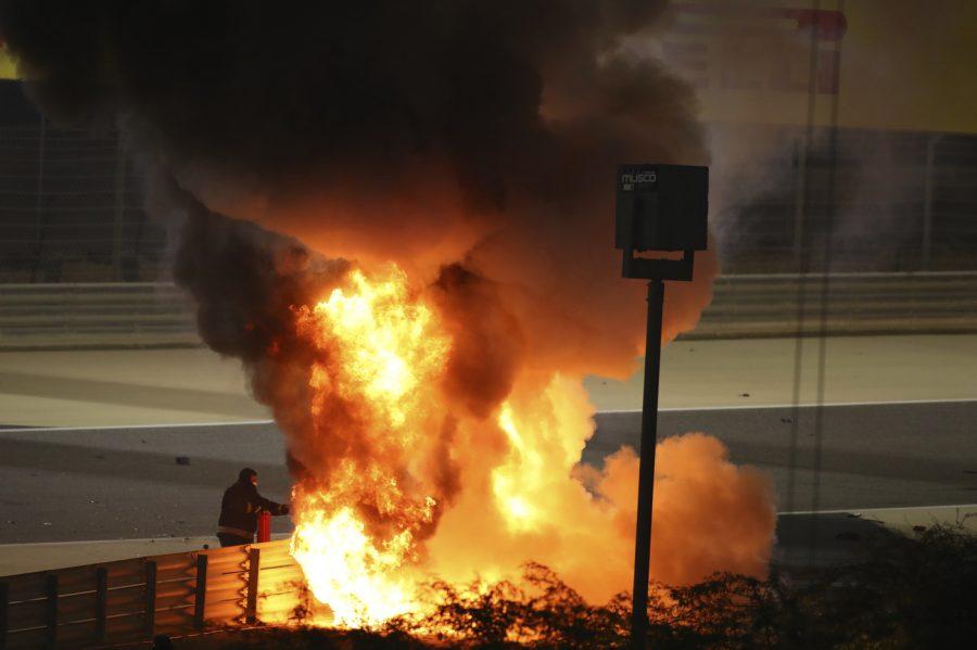 """Incidente Grosjean, il tragico racconto: """"Tra le fiamme ho pensato a loro"""""""