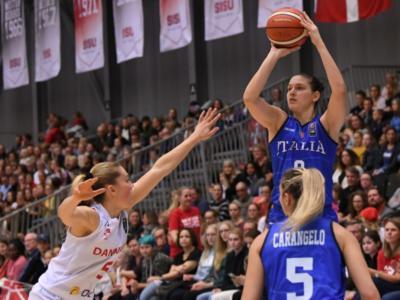 Basket femminile, le convocate dell'Italia ai raggi X per Romania e Repubblica Ceca. Zandalasini la guida, esordio FIBA per Pan e Attura