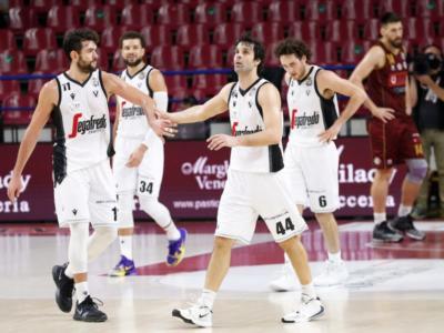 LIVE Virtus Bologna-Brindisi 88-98, Serie A basket 2020-2021 in DIRETTA: sesta di fila per gli uomini di Vitucci, in testa per una notte