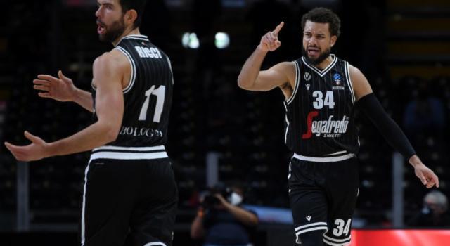 Basket, EuroCup 2020-2021: la Virtus Bologna resta imbattuta. Vittoria contro il Lietkabelis