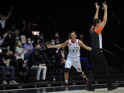 Basket: Reggio Emilia, altri quattro giocatori negativi al test anti-Covid-19 assieme al vice Federico Fucà