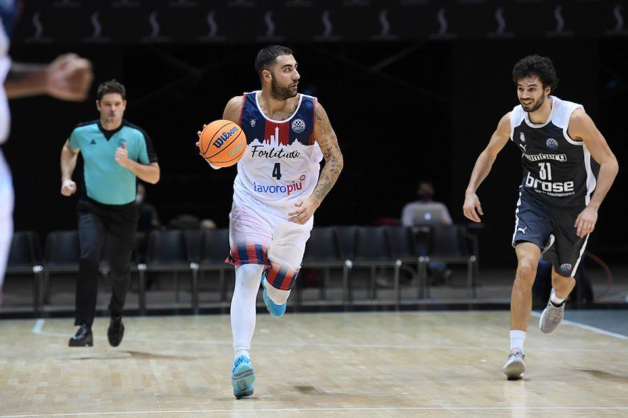 Basket, Champions League: la Fortitudo Bologna cade contro il Bamberg