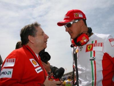 """F1, Jean Todt: """"Michael Schumacher continua a lottare"""""""