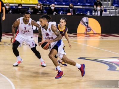 Basket, Eurolega 2020-2021: CSKA e Olympiacos, vittorie in volata. Maccabi e Barcellona travolgenti
