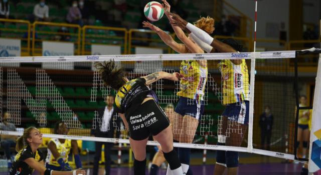 Volley femminile, Serie A1: Conegliano batte Trento 3-1, decima vittoria consecutiva per le Pantere!