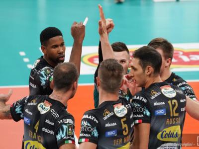 Volley, SuperLega: Perugia torna in testa. Trento ritrova Giannelli, rimonta da antologia. Modena ko contro Vibo