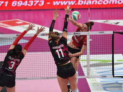 Volley femminile, Serie A1 2020-2021: Monza batte Perugia ed è terza! Scandicci torna al successo, Cuneo batte Busto